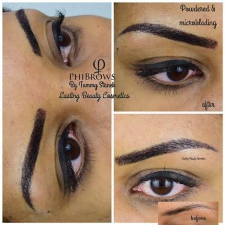 Powder Eyebrow Powdering