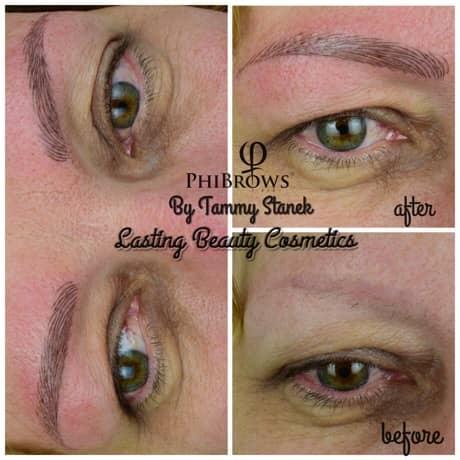 restore eyebrows Madison Wisconsin