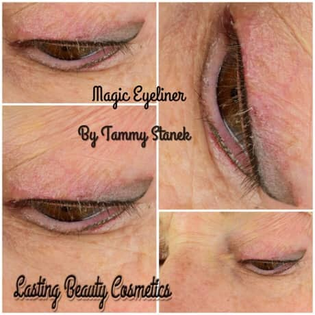 Eyeliner Treatment by Permanent Cosmetics Madison