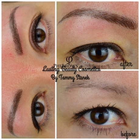 Eyebrow Microblading service Madison Wi