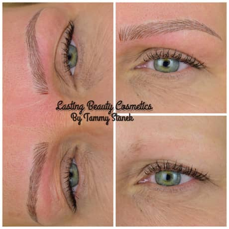 Microblading brows by TAMMY STANEK