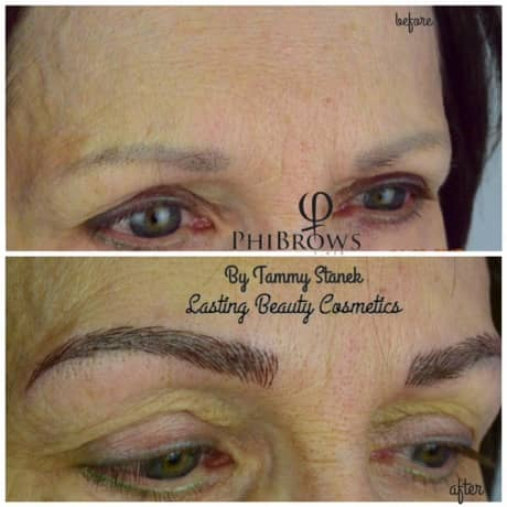 Eyebrow microblading Pictures