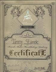MB Certificate BRANKO BABIC