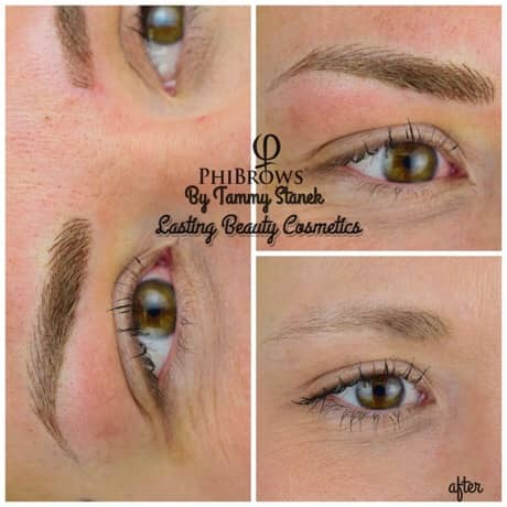 Microblading brows Madison Wi