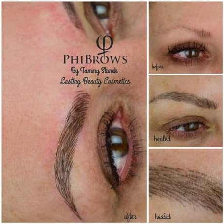 Microblading brows gallery