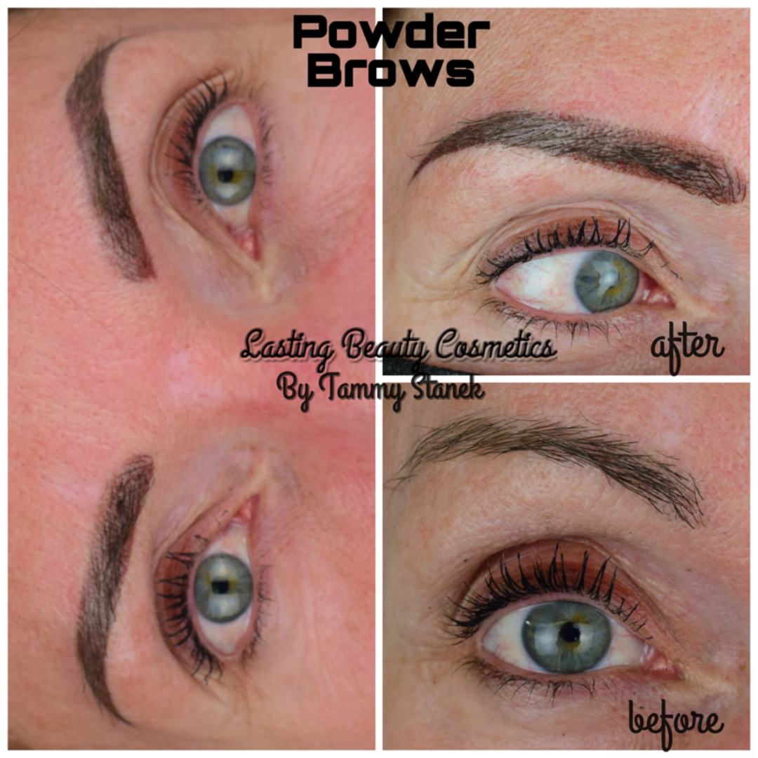Oft Powder eyebrows Madison