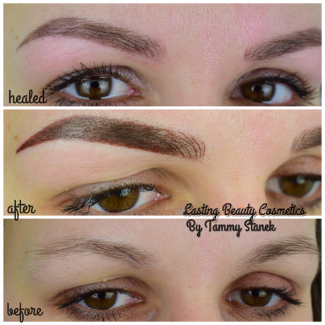 Healed Powder brow picture